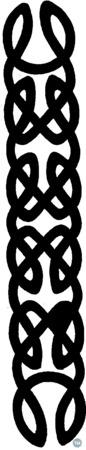 Celtic Shelf Holder