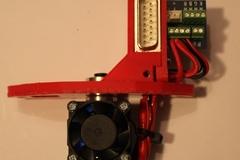 Mendel90 Lasercut E3dv6 Hotend Assembled