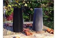 Carousel thumb vase