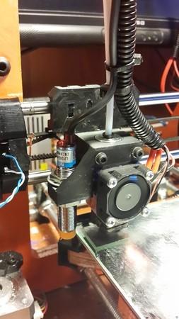 Prusa i3 E3D V6 Bowden and Induction Sensor Mount