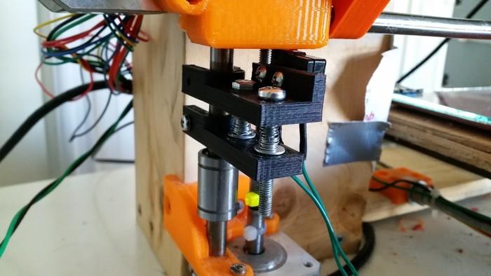 Adjustable Z endstop holder