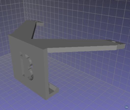 120mm fan mount - Prusa i3 plate