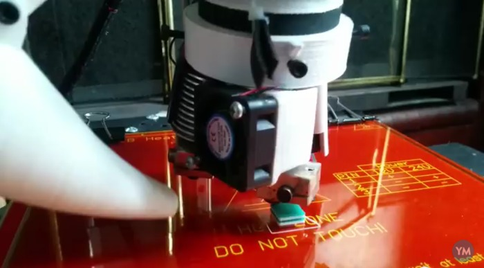Rotating Nozzle Platform
