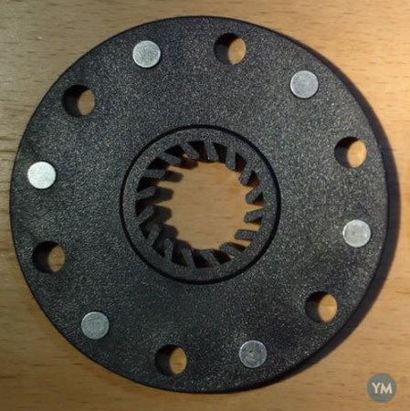 E-Bike Pedal Magnet Plate