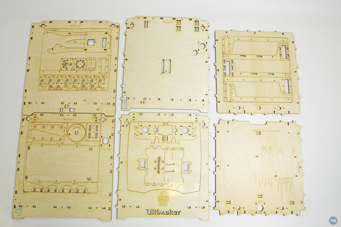 Ultimaker laser cut drawings