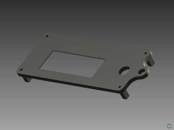 LCD Enclosure with SD Reader (for Sainsmart)