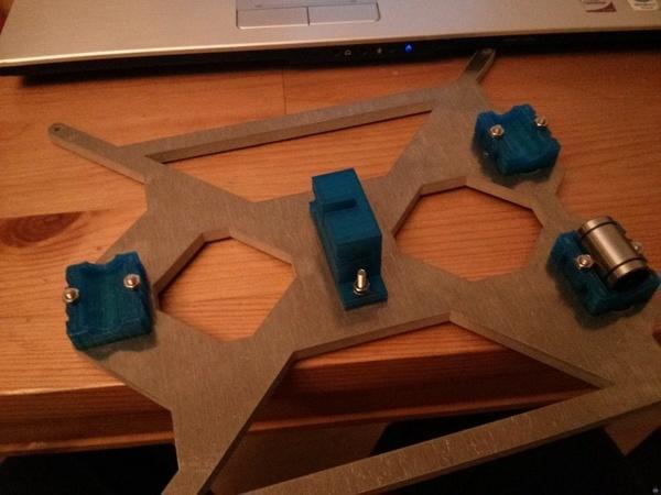 i3 alu bearing holder