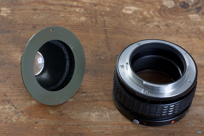 Recesky lens barrel for helicoid tube (Pentax K)