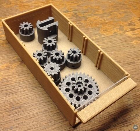 Replacement Drawer - 7.2 x 15 cm - Tiroir de rechange