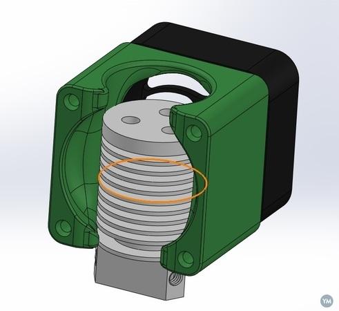 40mm Fan Mount for Tri Hotend