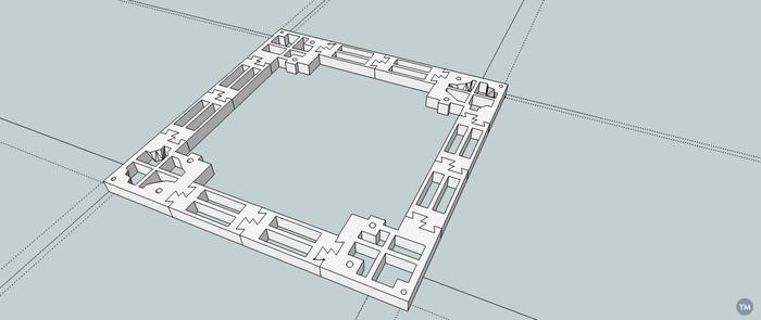 prusa i3 modular hotbed support