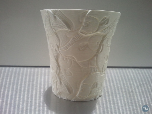 Weekly Cup 45... Escher again, now recongizable...