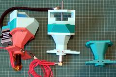 Pellet Extruder Assembly 8