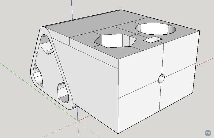 Printer Y Carriage concept