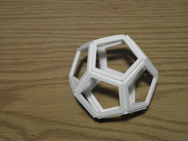 Friction Welded Dodecahedron