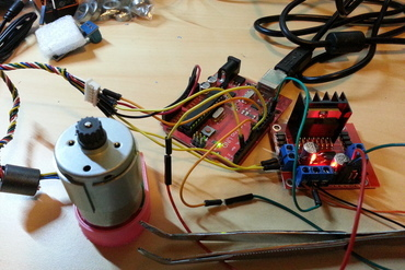 YouMagine – DC motor closed-loop control software by Miguel Sánchez