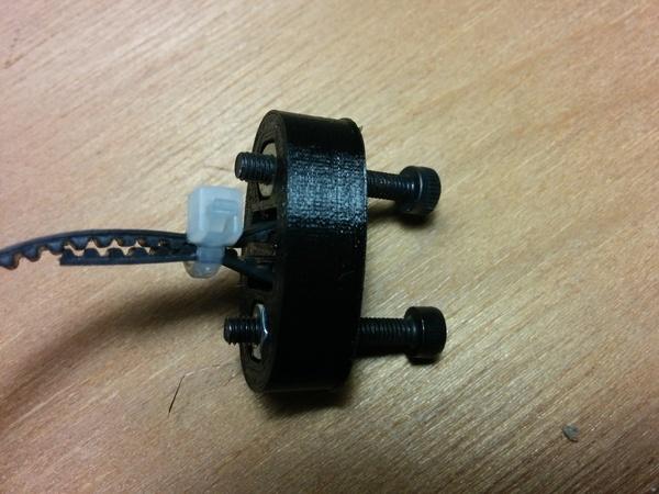 Simple Metal Y Belt Tensioner