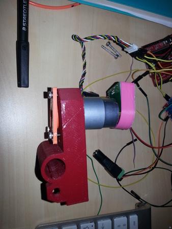 Encoder disk cover