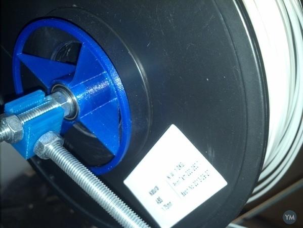 Universal Spool holder for 608 bearing