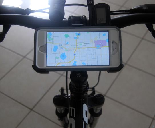 Otterbox iPhone Belt Clip Mod to Mountain Bike Mount
