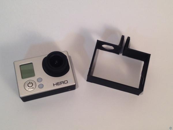 GoPro Hero3 Frame Reversed