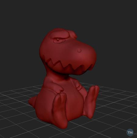 Grumpy T Rex