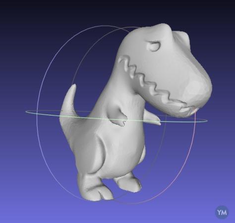 clap oh no T Rex