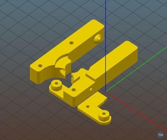 Two Bit MK8 Extruder