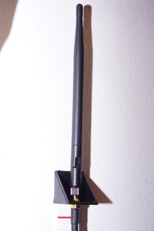 Antenna mount (WLAN, ZigBee, Homematic ect.)