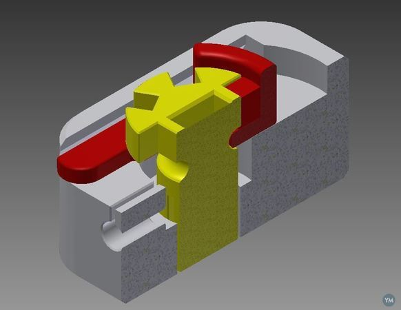 printed tensioner for hand & Arm POC