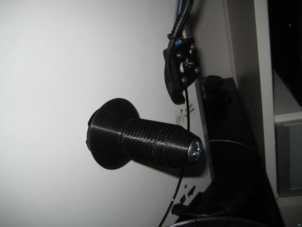 Low friction UM2 spoolholder endcap