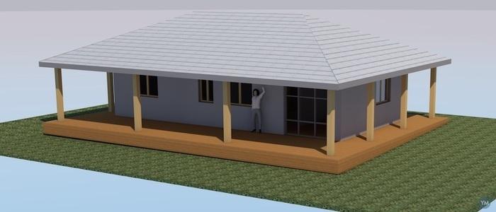 Little house in Wallis&Futuna