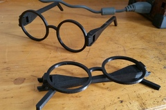 Scalable Harry Potter Glasses