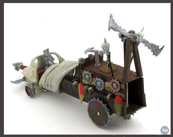 28mm Orc War Machine