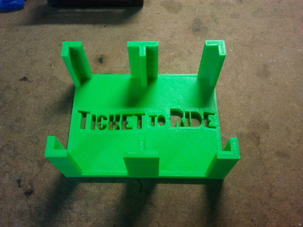 Ticket to Ride card holder