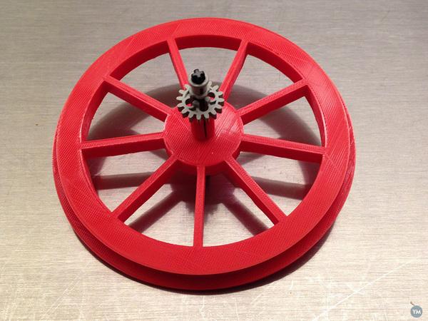 LEGO Cablecar Wheel / Seilbahn / Gondel