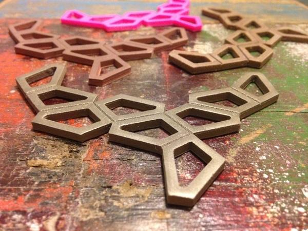 Polygon Necklace