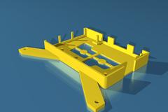Rendering of printrbot_raspberry_pi_b_case_to_simple_metal_bed_mount_1_.stl