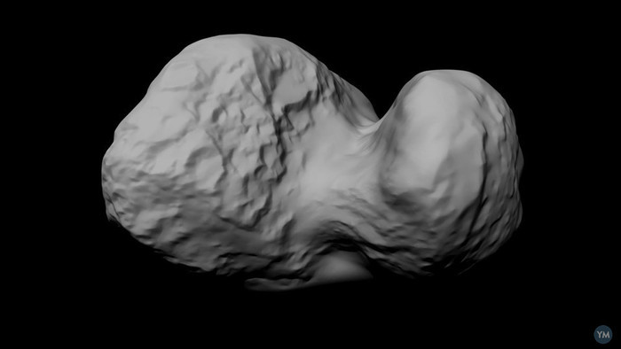 Shape model of comet 67P/C-G