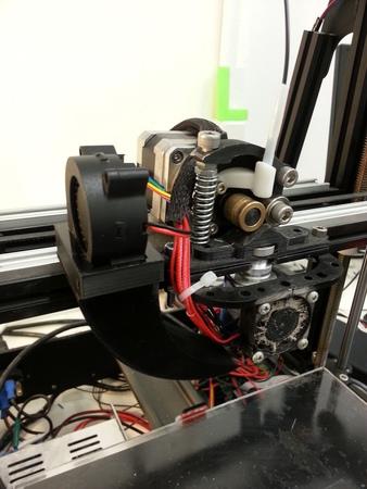 MendelMax2 blower fan bracket and shroud