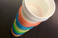 Carousel thumb stackable cups by macouno  youmagine.com  v2
