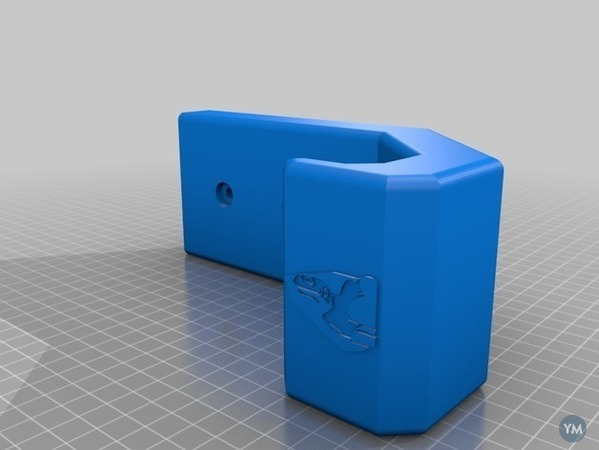 3D Printed - Snowboard Wall Mount