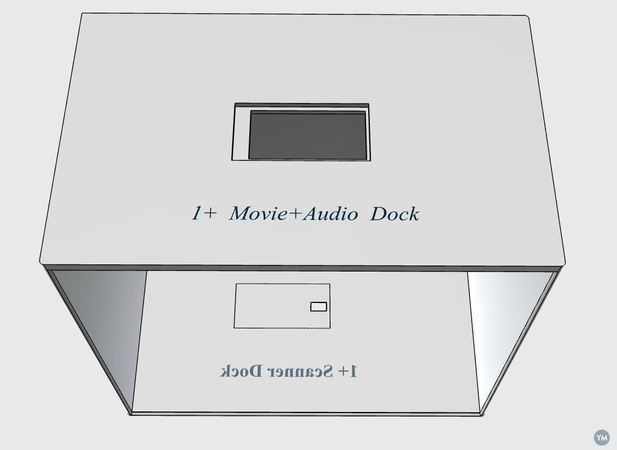 1+ Scanning Dock , Movie+Audio Dock DUAL DOCK