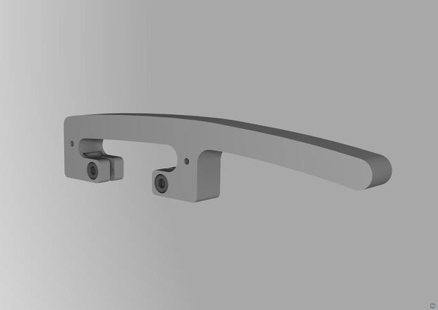 Printrbot simple metal handle