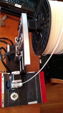 Spacer for Metal Spool Rack