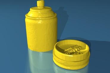 YouMagine Spritz Spraypaint Can with Secret Stash Spot by dodgrr