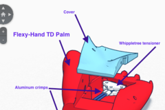 Flexy Hand Left Td 1.5 Assembly