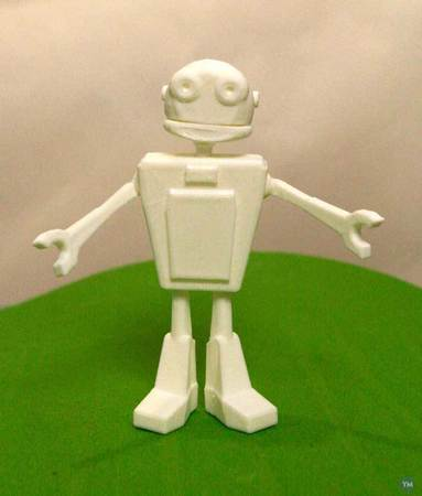 Robot by Shira with supports added