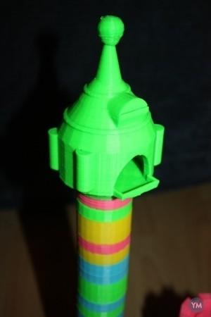 Duplo tower rapunzel / castle - duplo compatible