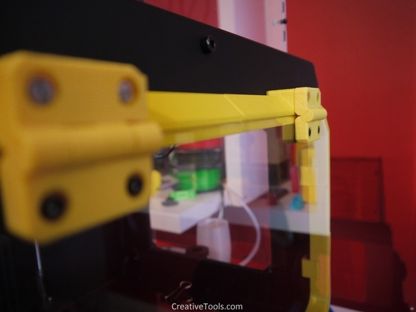 Print-In-Place Hinge for Wanhao Duplicator 4S